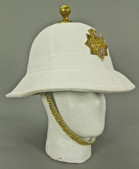 7333f7c333cfe British Royal Marines Dress Pith Helmet