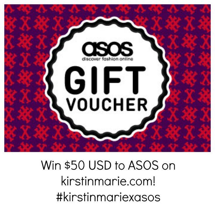 Kirstin Marie x ASOS Giveaway #kirstinmariexasos and @Kirstin Marie