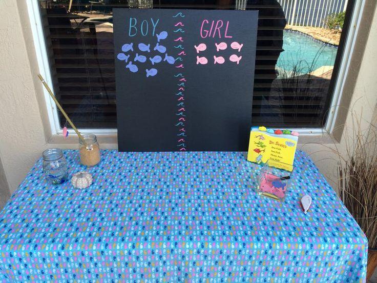 15 best gender reveal invitations images on pinterest for Fishing gender reveal ideas