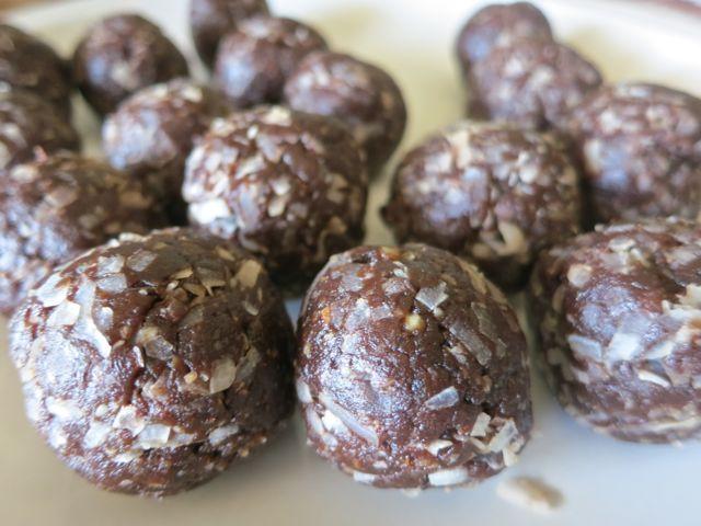 Healthy Almond Joy Bites