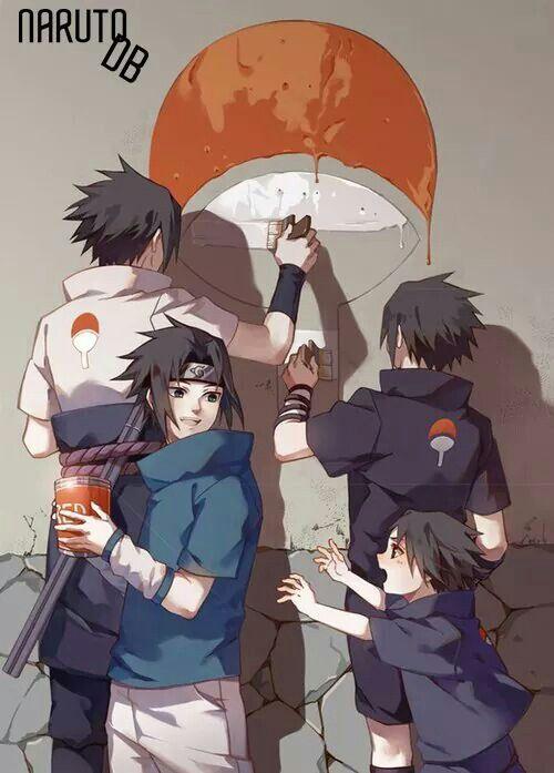 Sasukes entwicklung sweet :3
