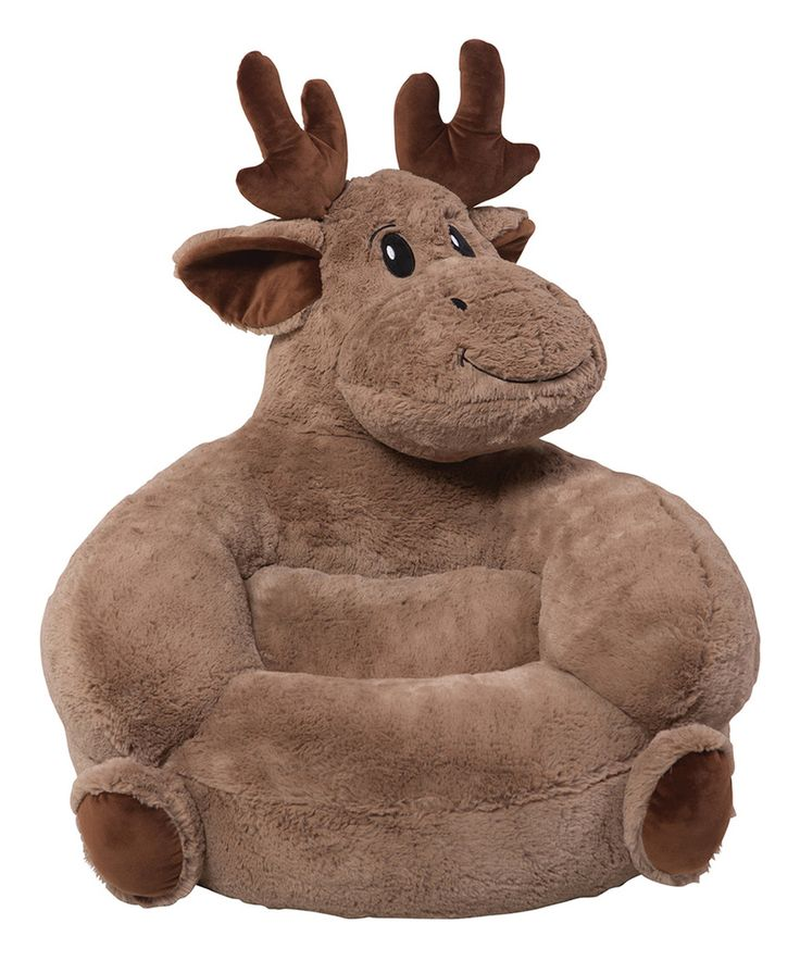 Look at this #zulilyfind! Trend Lab Moose Plush Chair by Trend Lab #zulilyfinds