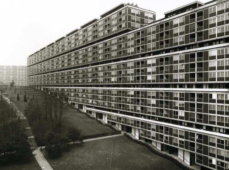 Housing complex of Cité du Lignon | 1962-71 | Geneva, Switzerland | Georges Addor