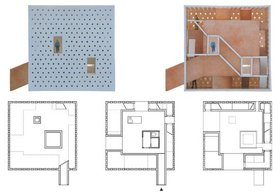 House without depth diagrams pinterest atelier bows for Bow house plans