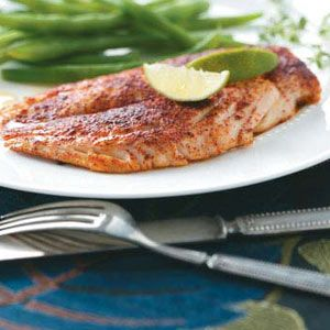 Honey-Lime Red Snapper Recipe | Taste of Home Recipes