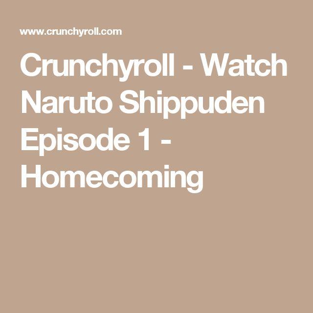 Crunchyroll - Watch Naruto Shippuden Episode 1 - Homecoming