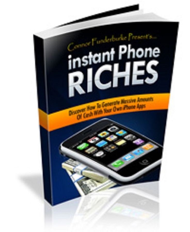 'Instant Phone Riches'   book---CD