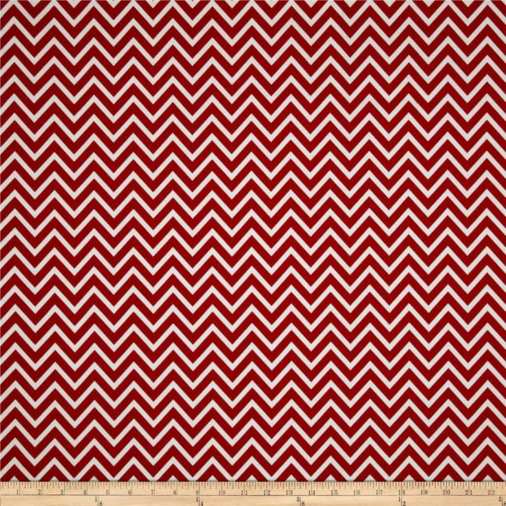 Premier Prints Cosmo Chevron Lipstick from @fabricdotcom  Screen printed on cotton duck; this versatile medium weight fabric is perfect for window accents (draperies, valances, curtains and swags), accent pillows, duvet covers and upholstery. Create handbags, tote bags, aprons and more. *Use cold water and mild detergent (Woolite). Drying is NOT recommended - Air Dry Only - Do not Dry Clean. Colors include red and white.