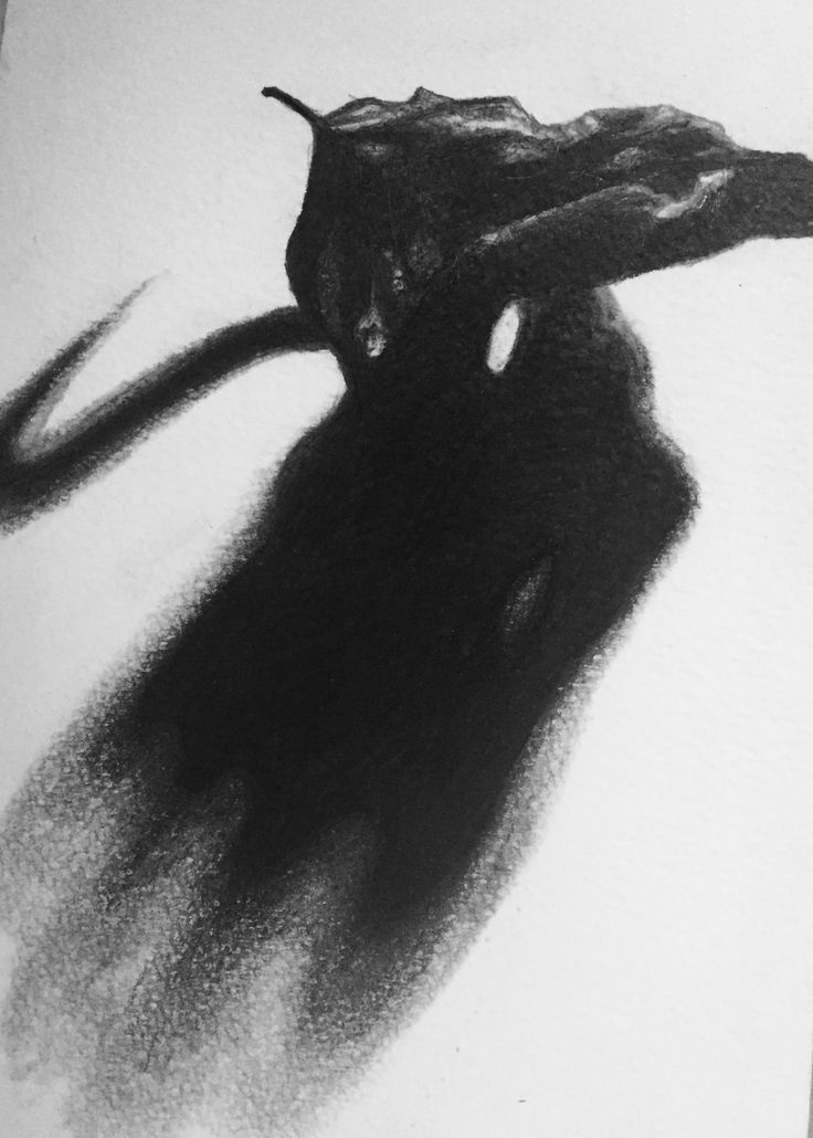 Charcoal and pencil, Moleskine, by Gry Hege Rinaldo.