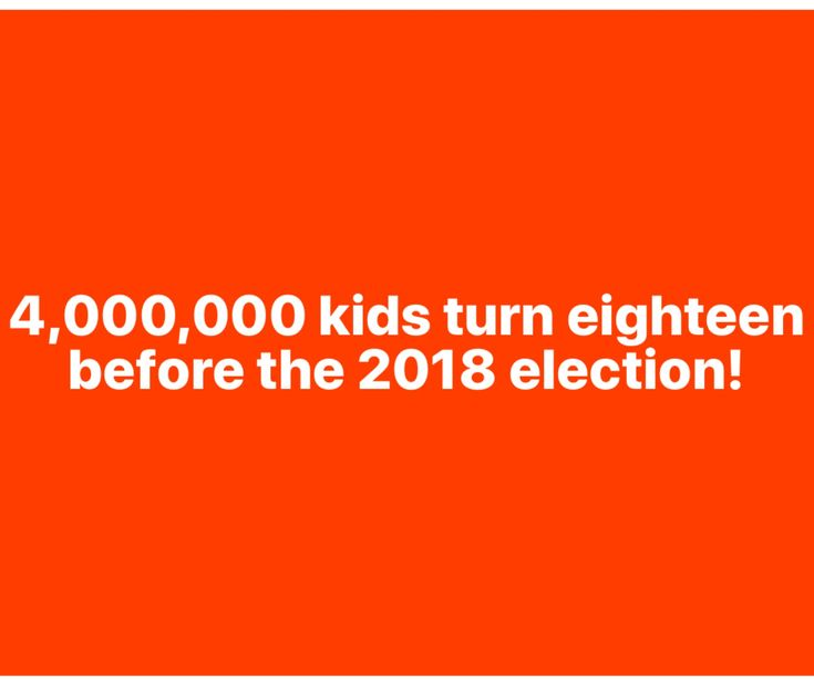 I Love It!!! Not only the November Mid Terms but the 2020 Presidential Election Too!! These Kids are not standing for the GOP Lies, Side Stepping, Greed and Complicity!!! #bluetsunami