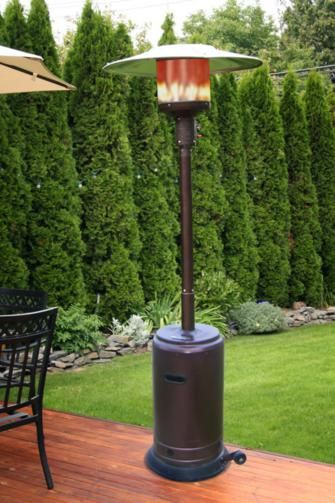 Hammertone Bronze Propane Patio Heater $220.00