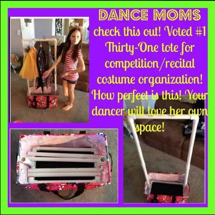 Who Ever came up with this idea is simply Brilliant! Dance Moms, Dance, Deluxe Utility Tote, Thirty One