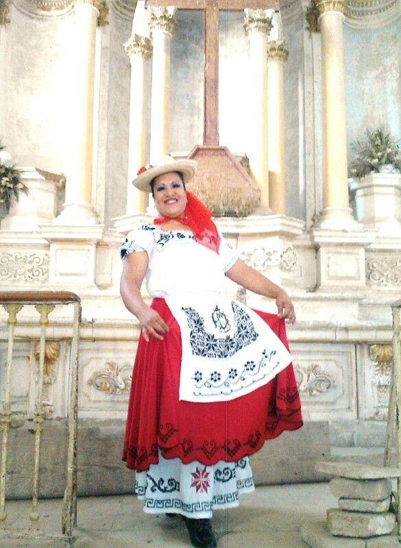Traje regional de Guanajuato Gto. México.