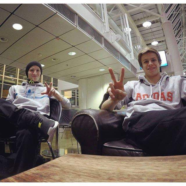 """Ready for Russia :) #gopro"" Andi via fb."