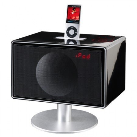 Geneva Model S Micro HiFi System With iPod Dock and Integrated Speakers - Gloss Black - http://digitalentertainment7.co.uk/hifi-system/geneva-model-s-micro-hifi-system-with-ipod-dock-and-integrated-speakers-gloss-black-2/