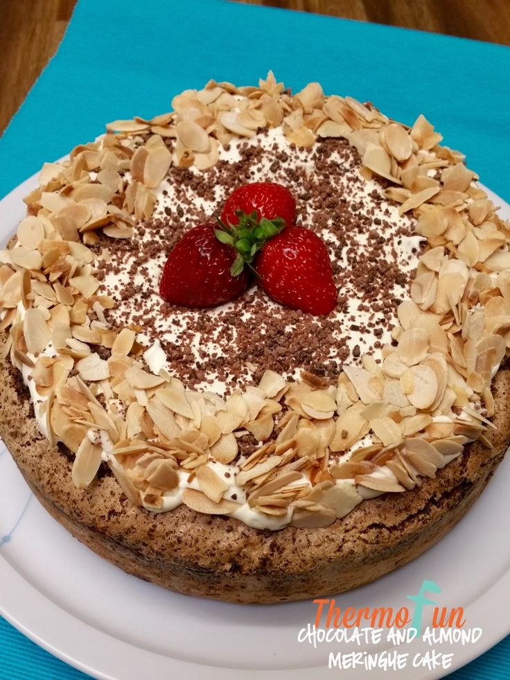 ThermoFun - Chocolate and Almond Meringue Cake Recipe | ThermoFun | Thermomix Recipes & Tips