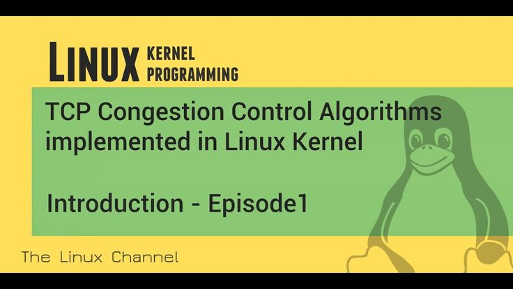 268 TCP Congestion Control Algorithms - implemented in Linux Kernel - In...