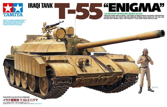 "Maquette - Iraqi Tank T-55 ""Enigma"" - Tamiya 35324"