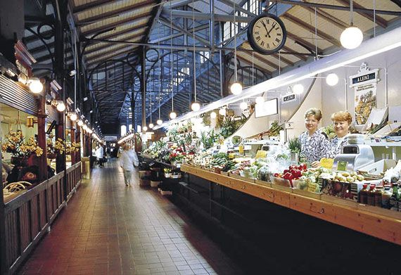 The market place, Turku, Finland. My fave place to shop!