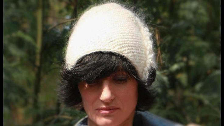 Вязаная шапка спицами ДИАГОНАЛЬ 👌 Интересная вязаная шапка спицами. Вяза...