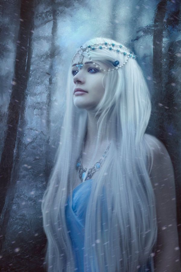 Snow Queen by Phatpuppyart-Studios.deviantart.com on @DeviantArt