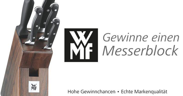 WMF-Messerblock Gewinnspiel - http://www.tableware24.com/magazin/wmf-messerblock-gewinnspiel/?utm_source=Pinterest&utm_medium=Geschirrkontor&utm_campaign=WMF-Messerblock+Gewinnspiel