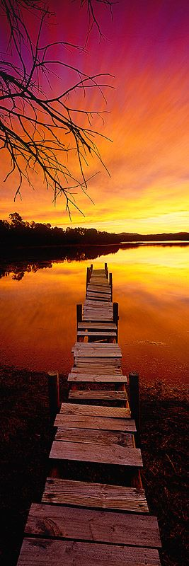 Wallaga Lake, Bermagui, Australia - by Mark Gray.