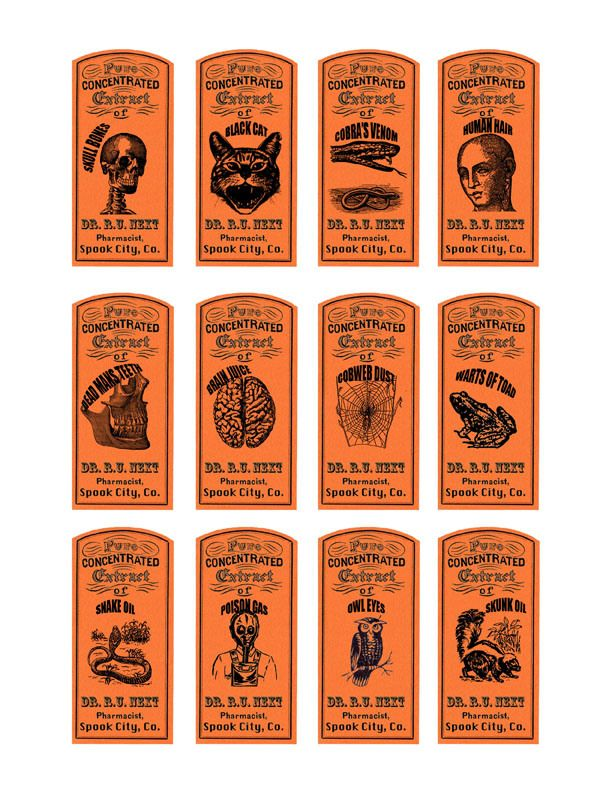 magic potions apothecary labels (2 of 3)