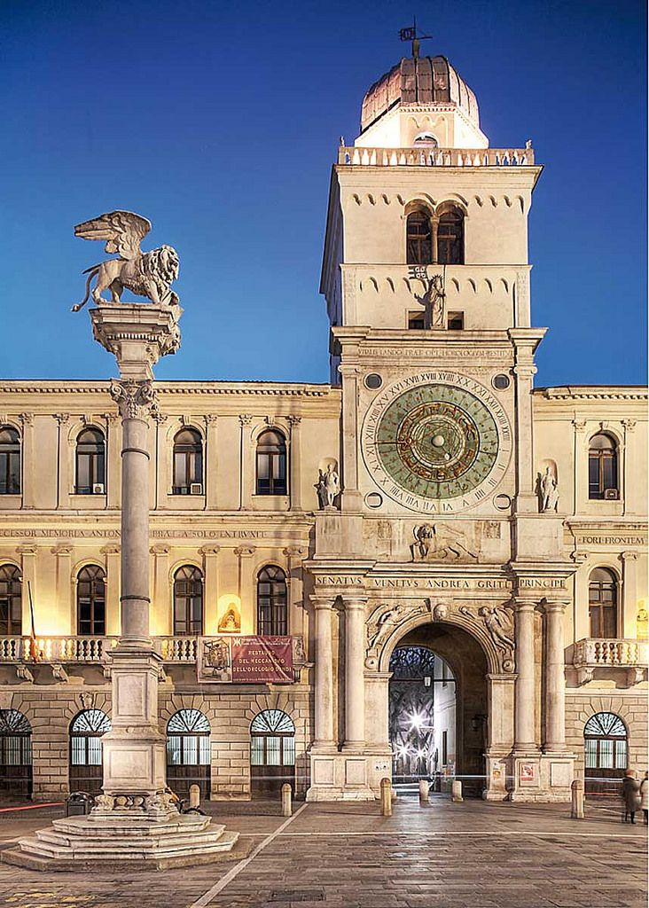 Torre dell'Orologio at Piazza dei Signori in Padua - Veneto, Italy
