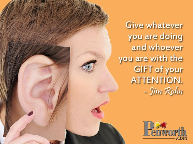 """Now-a-days the """"Gift of Attention"""" is very precious to receive."""
