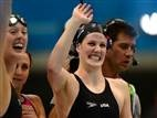 Missy Franklin wins her fourth gold and a second world record in 24 hours