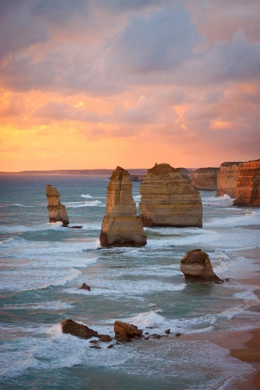 the twelve apostles, victoria, australia - photo by allie spencer