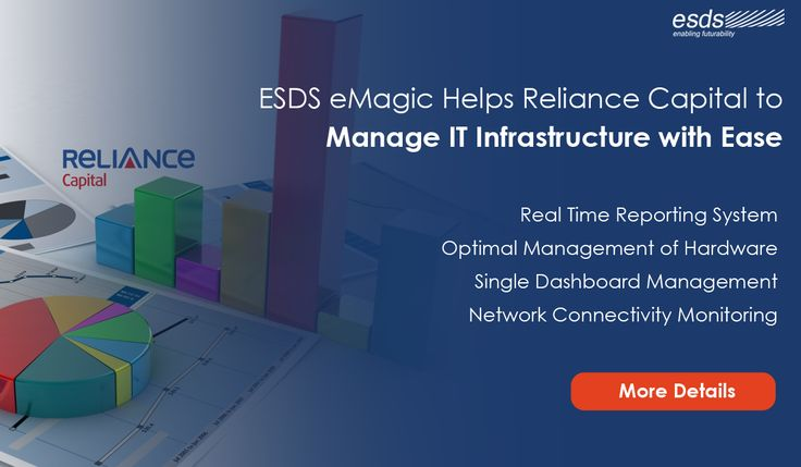 ESDS #DCIM tool eMagic helps @RelianceCapital to Manage #IT Infrastructure with Ease! Know more about #Datacenter #Infrastructure Management Tool
