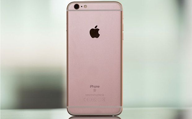 The iPhone 6s Plus in rose gold