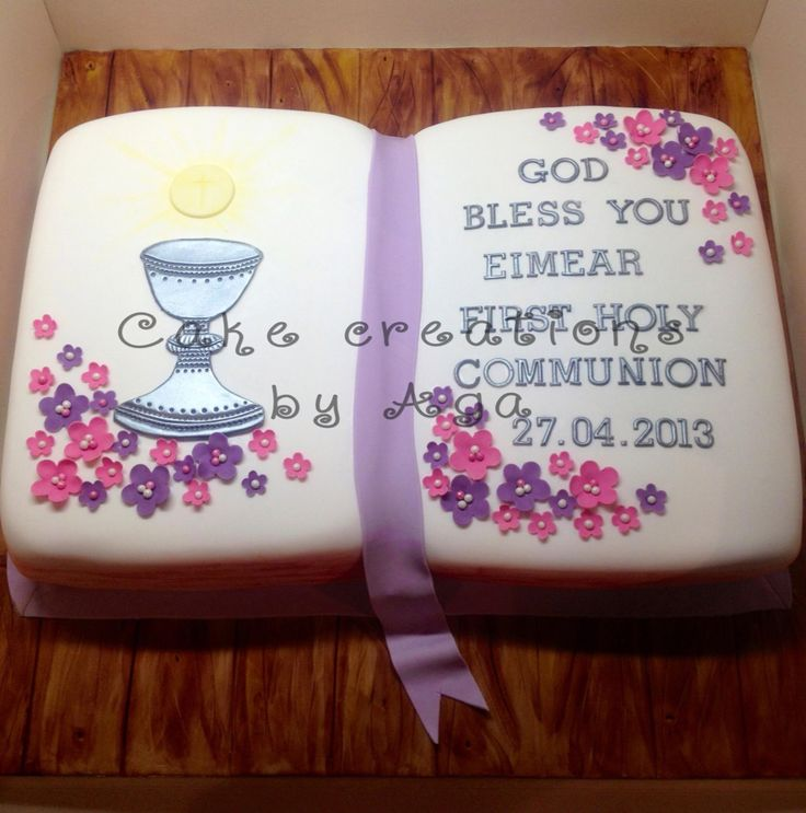 Communion cake book/ książka tort komunijny