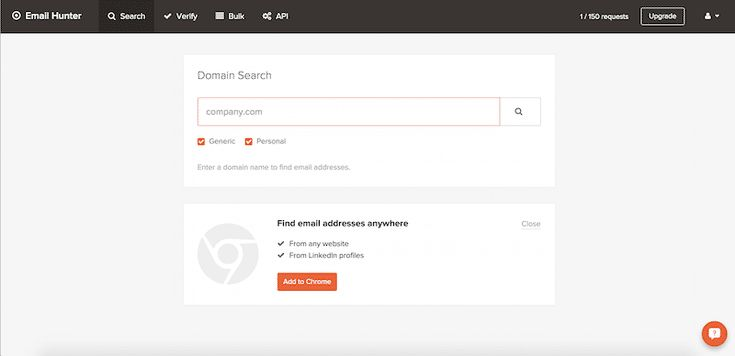 Here Are 4 Powerful Email Address Search Tools to Find People: Use Email Hunter to Search for Email Addresses by Domain