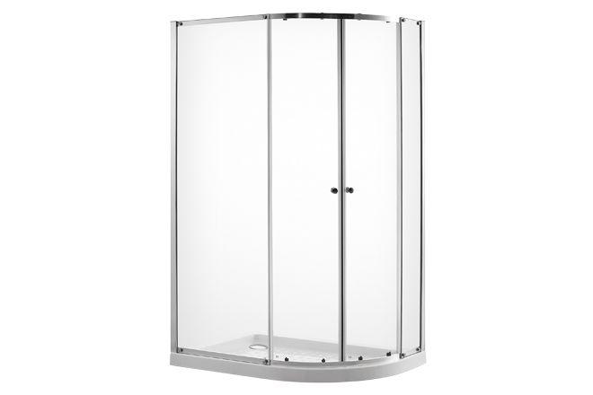 V10111079 6series Framed Offset Quadrant Shower Enclosure 1200 X 800mm front_angle rectangle medium