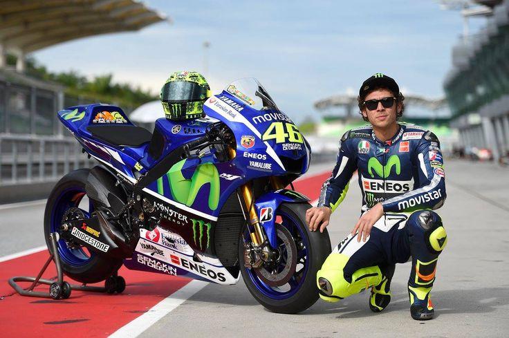 Sepang test 1 - 2015 Valentino Rossi #46