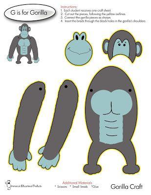 G is for Gorilla Craft Glimmercat: November 2015                                                                                                                                                                                 More