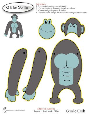 G is for Gorilla Craft Glimmercat: November 2015