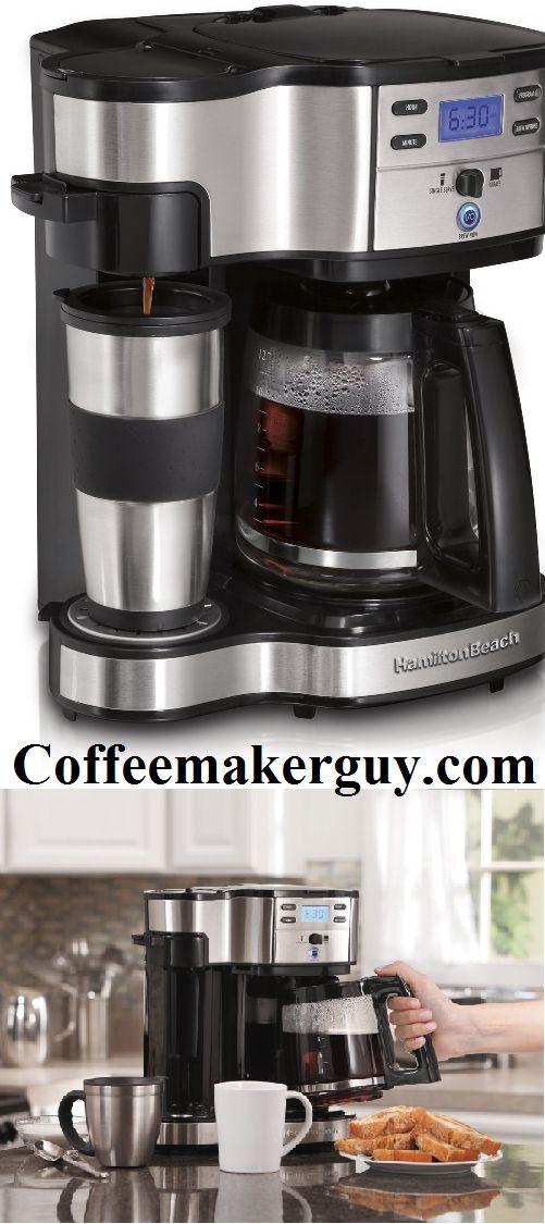 Hamilton Beach Single Serve Coffee Maker is best using coffee maker