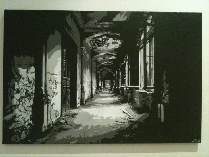 Hallway Stencil