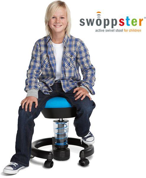 swoppster, zdravotná stolička na kolieskach do 50 kg