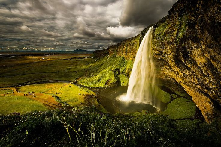 Seljalandsfords, Islandia.