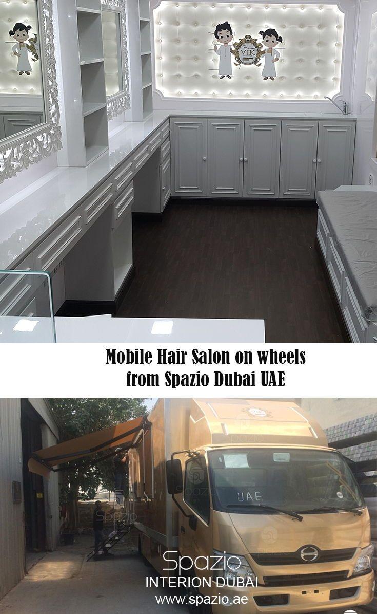 Truck Beauty Salon Interior Design Mobile Beauty Salon Salon