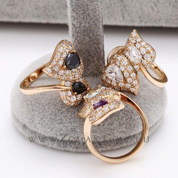 Orchidea gyűrű - Zomax Gold divatékszer www.zomax-gold.hu
