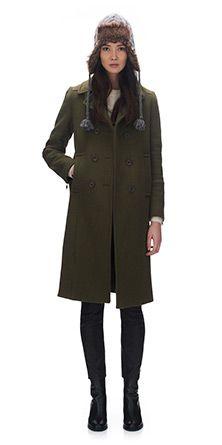 Elin DB Military Coat
