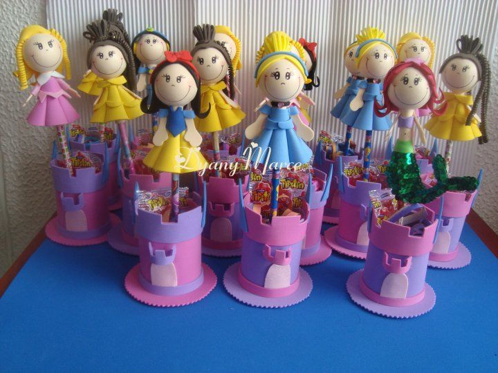 Sorpresas para las niñas de princesas