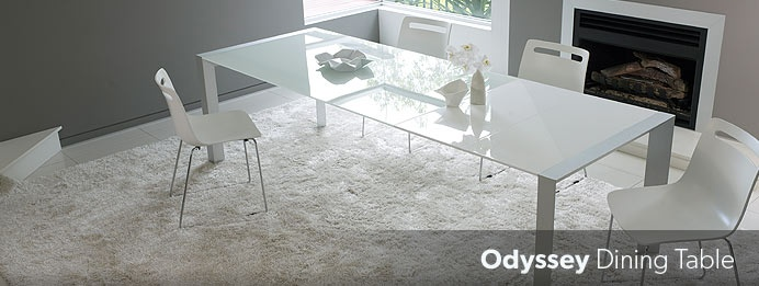 Dining Furninture Range - Odyssey Dining Table
