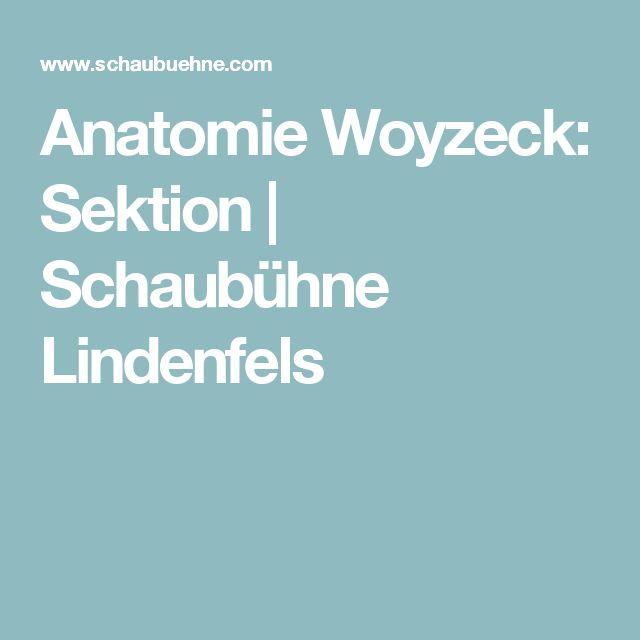 Anatomie Woyzeck: Sektion | Schaubühne Lindenfels